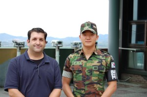Ross With South Korean Soldier