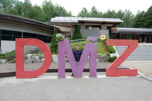 Ross with DMZ Sign