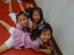 Little Korean Female Students