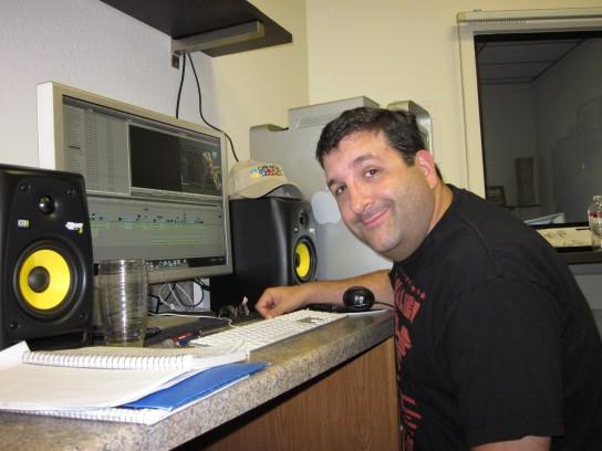 Ross edits TV pilot