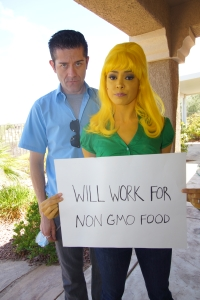 Anthony & Tala, gmo_sign