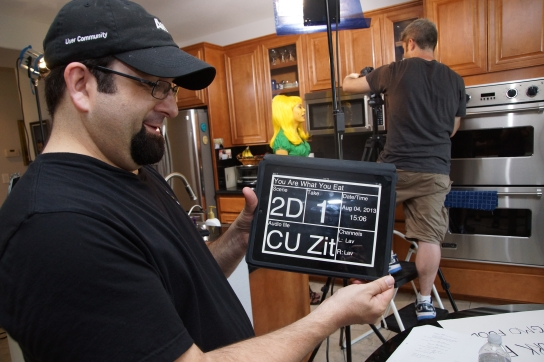 Ross with iPad Slate