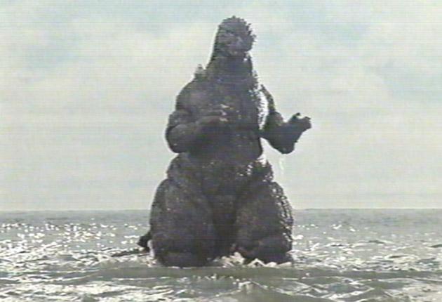 Godzilla Old School
