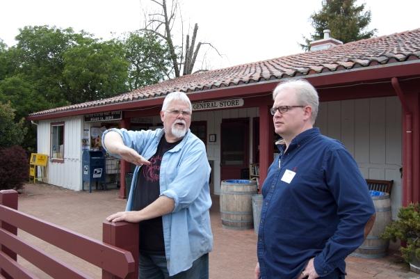 Trip to Skywalker Ranch, Nicasio, Sean and clerk