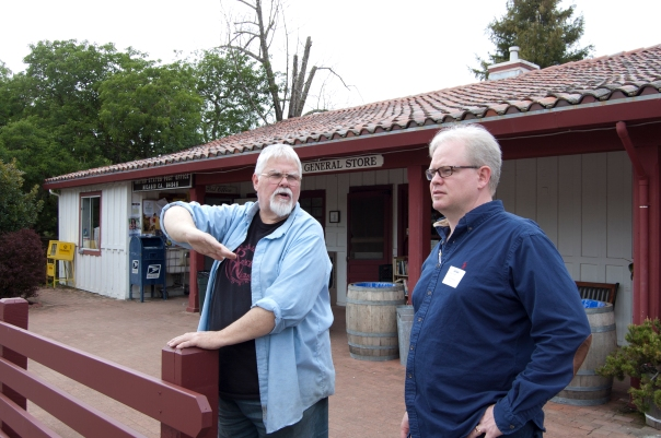 Trip to Skywalker Ranch, Nicasio, Sean and clerk
