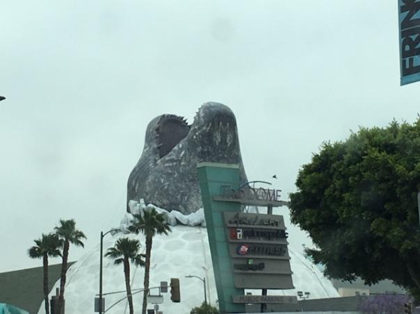 The Dome w Godzilla